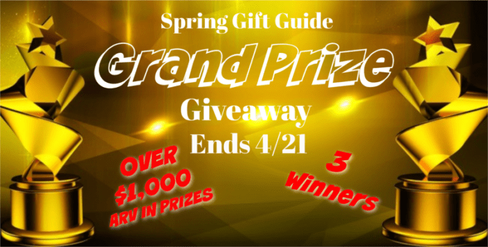Spring Gift Guide Grand Prize Giveaway Ends 4/21 @SMGurusNetwork @las930 #SPRING19 #MySillyLittleGang