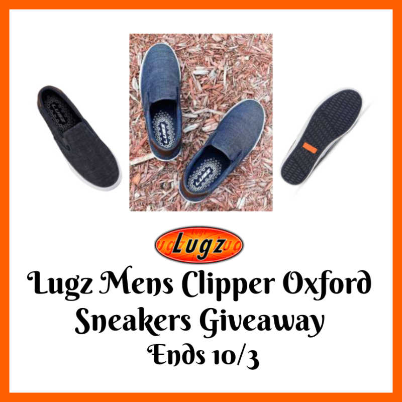 Lugz Mens Clipper Oxford Sneakers Giveaway ~ Ends 10/3 @SMGurusNetwork @las930 @LugzNYC #MySillyLittleGang