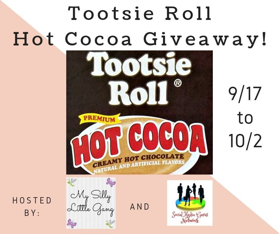 Tootsie Roll Hot Cocoa Giveaway ~ Ends 10/2 #MySillyLittleGang @SMGurusNetwork @BrooklynBeans1