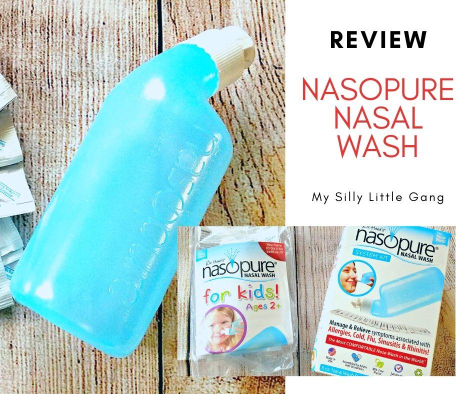Nasopure Nasal Wash Review @NASOPURE #MySillyLittleGang