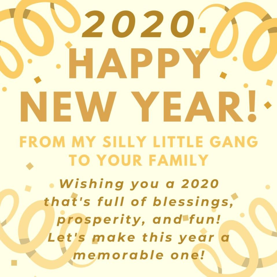 Happy New Year! #2020
