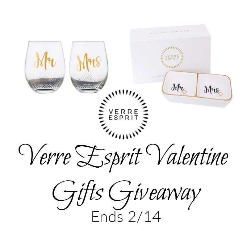 Verre Esprit Valentine Gifts Giveaway ~ Ends 2/14 @las930 #MySillyLittleGang