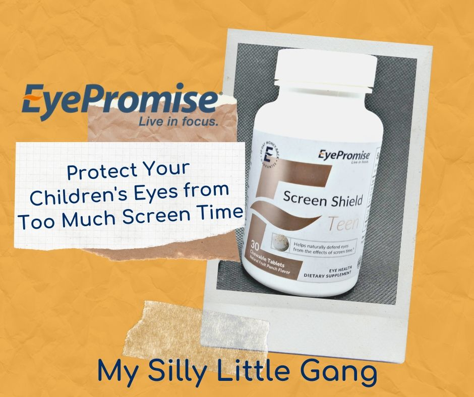 EyePromise ~ Protect Your Children's Eyes from Too Much Screen Time. @EyePromiseGG #UpgradeYourEyes #MySillyLittleGang