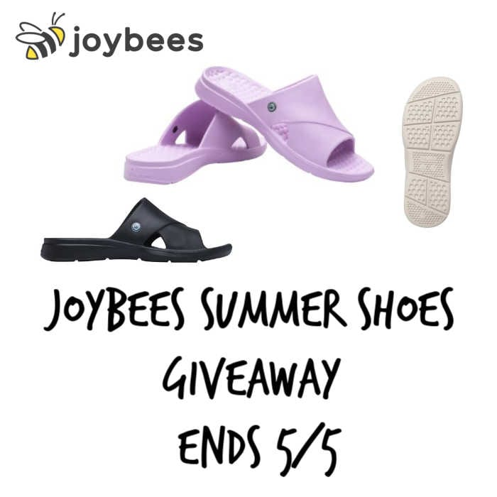 Joybees Summer Shoes Giveaway #MySillyLittleGang
