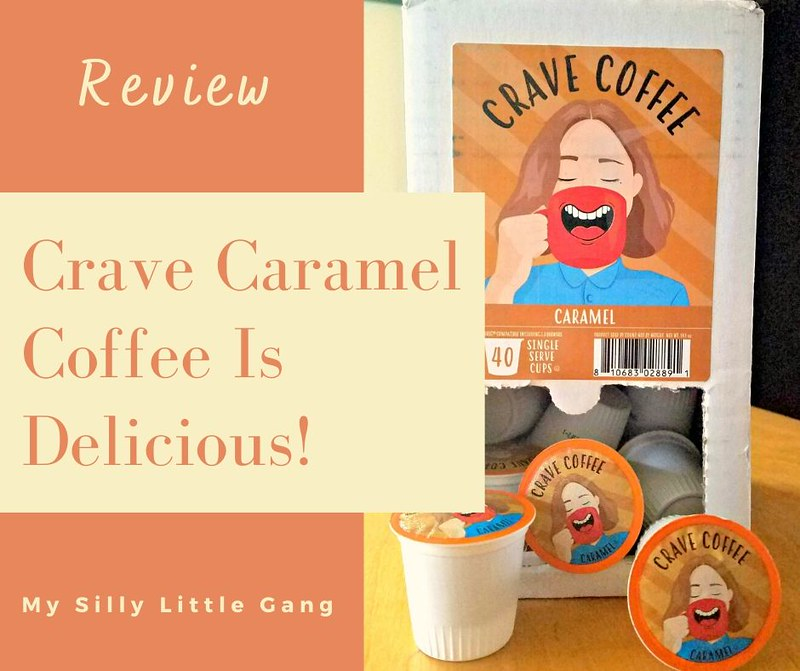 Crave Caramel Coffee Is Delicious! @tworiversco #MySillyLittleGang