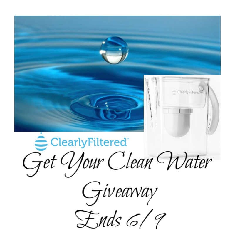 Get Your Clean Water Giveaway ~ Ends 6/9 #facemaskselfie @las930 #MySillyLittleGang