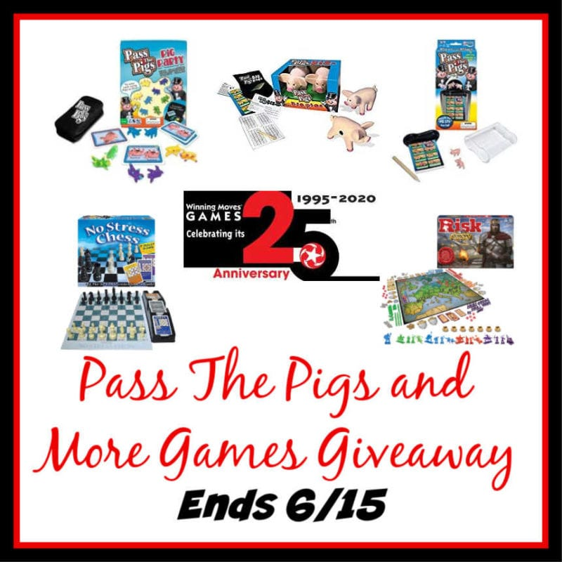 Pass The Pigs Games and More Giveaway ~ Ends 6/15 @winningmovesusa @las930 #MySillyLittleGang