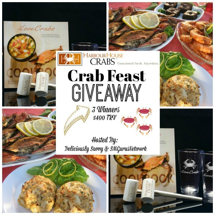 Harbour House Crabs Crab Feast Giveaway ~ Ends 9/9 @HHCrabs @deliciouslysavv #MySillyLittleGang