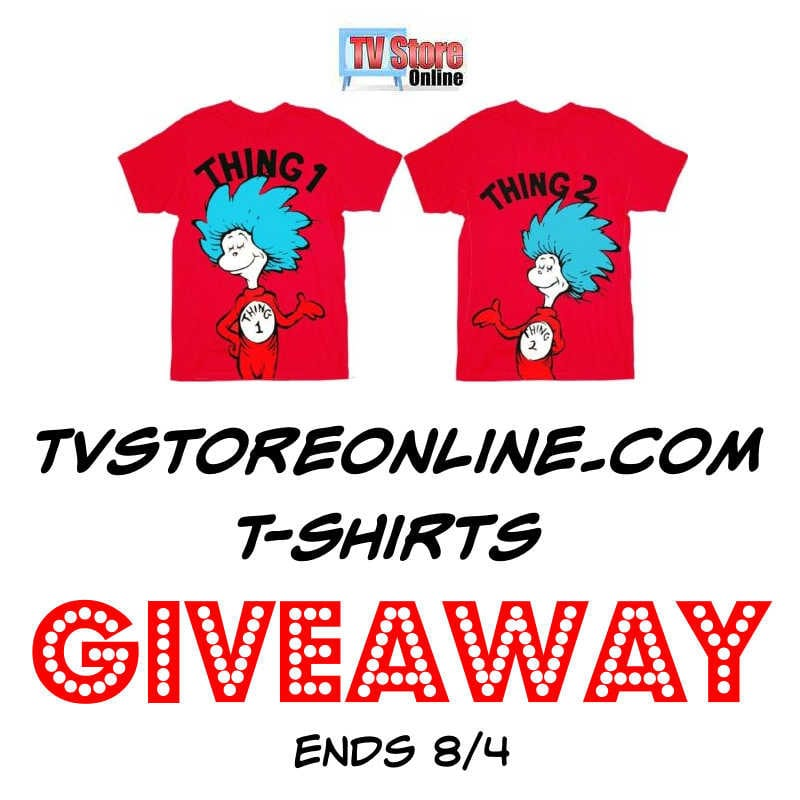 TVStoreonline.com T-shirts Giveaway ~ Ends 8/4 @TvStoreOnline @las930 #MySillyLittleGang