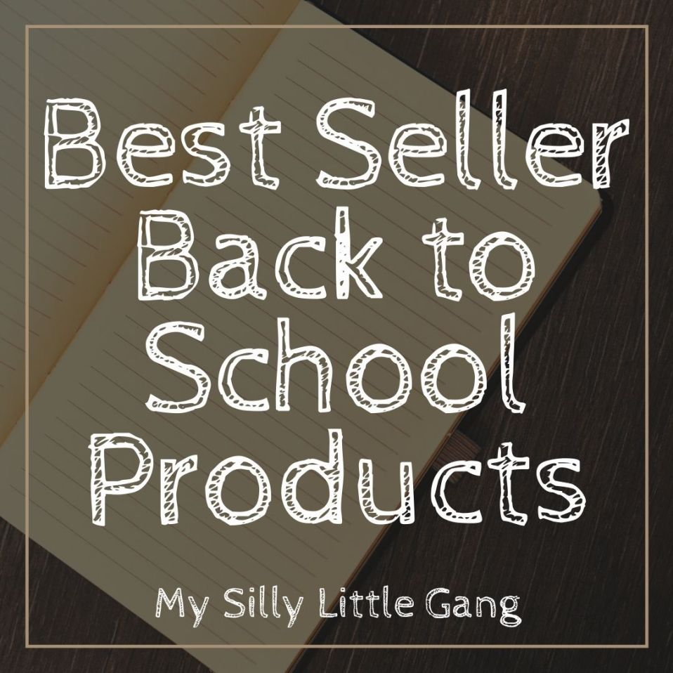Best Seller Back to School Products #MySillyLittleGang