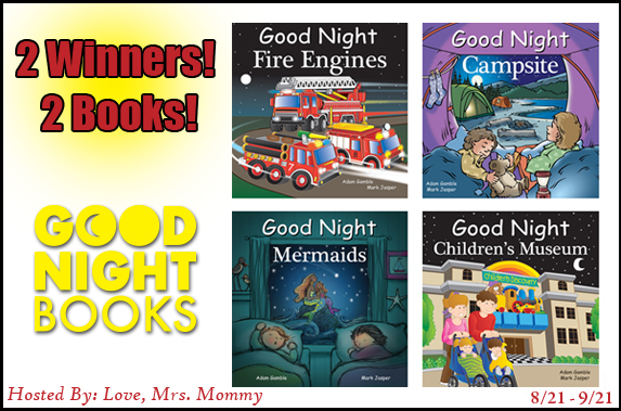 Good Night Books For Kids Giveaway ~ Ends 9/21 @Love_MrsMommy #MySillyLittleGang