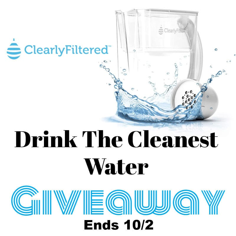 Drink The Cleanest Water Giveaway ~ Ends 10/2 @clearlyfiltered @las930 #MySillyLittleGang