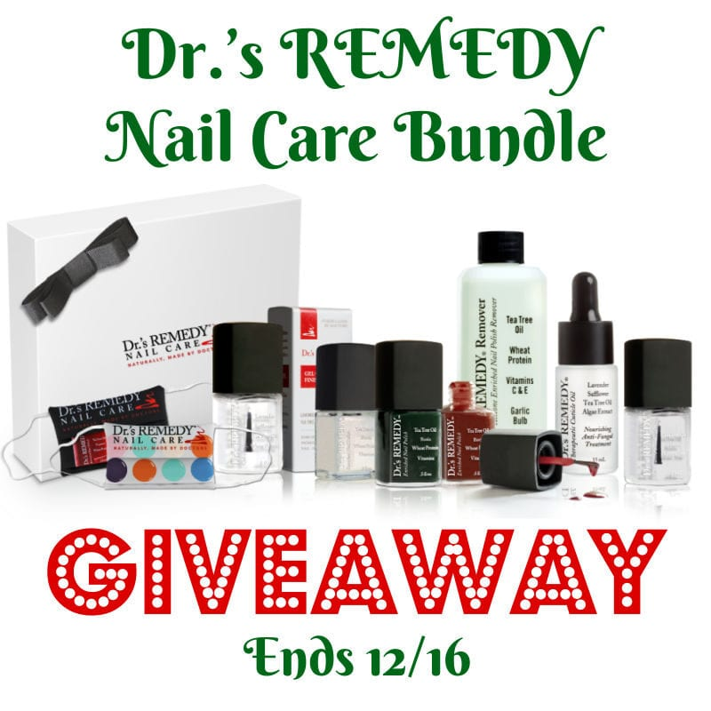 Dr.'s REMEDY Nail Care Bundle Giveaway ~ Ends 12/16 @las930 #MySillyLittleGang