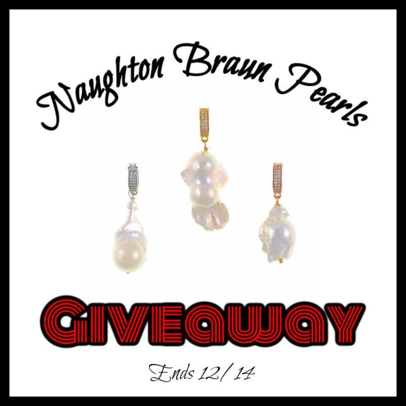 Naughton Braun Pearls Giveaway ~ Ends 12/14 @NaughtonBraun @las930 #MySillyLittleGang