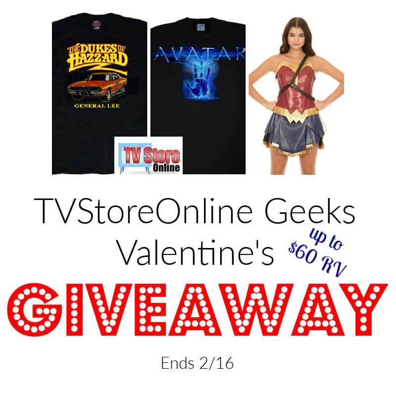 TVStoreOnline Geeks Valentines Giveaway ~ Ends 2/16 @TvStoreOnline @las930 #MySillyLittleGang