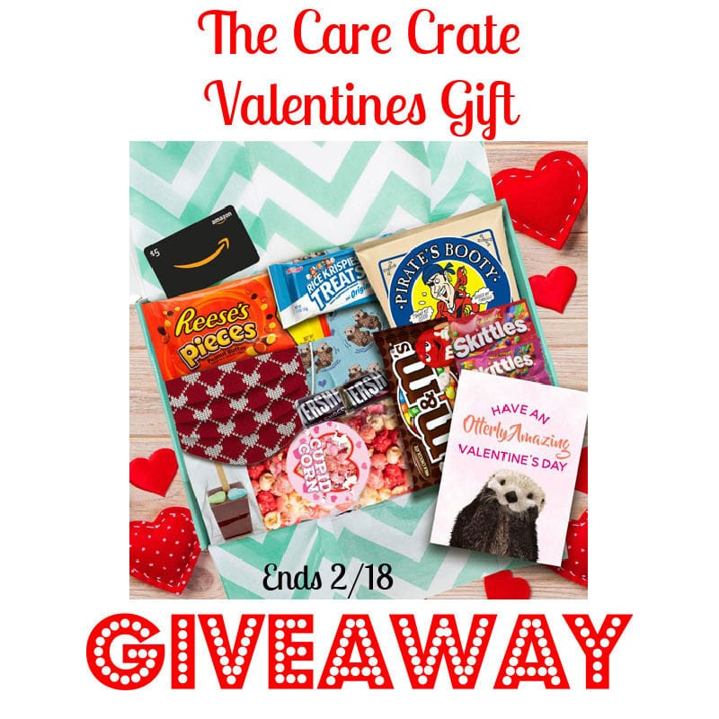 The Care Crate Valentines Gift Giveaway ~ Ends 2/18 @las930 #MySillyLittleGang