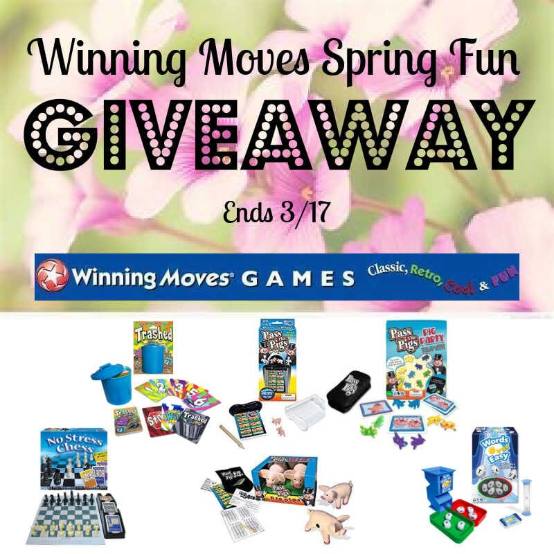 Winning Moves Spring Fun Giveaway ~ Ends 3/17 @WinningMovesUSA @las930 #MySillyLittleGang