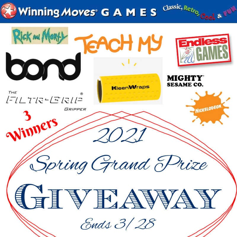 2021 Spring Grand Prize Giveaway ~ Ends 3/28 @las930 #MySillyLittleGang