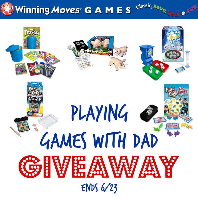 Playing Games With Dad Giveaway ~ Ends 6/23 #MySillyLittleGang
