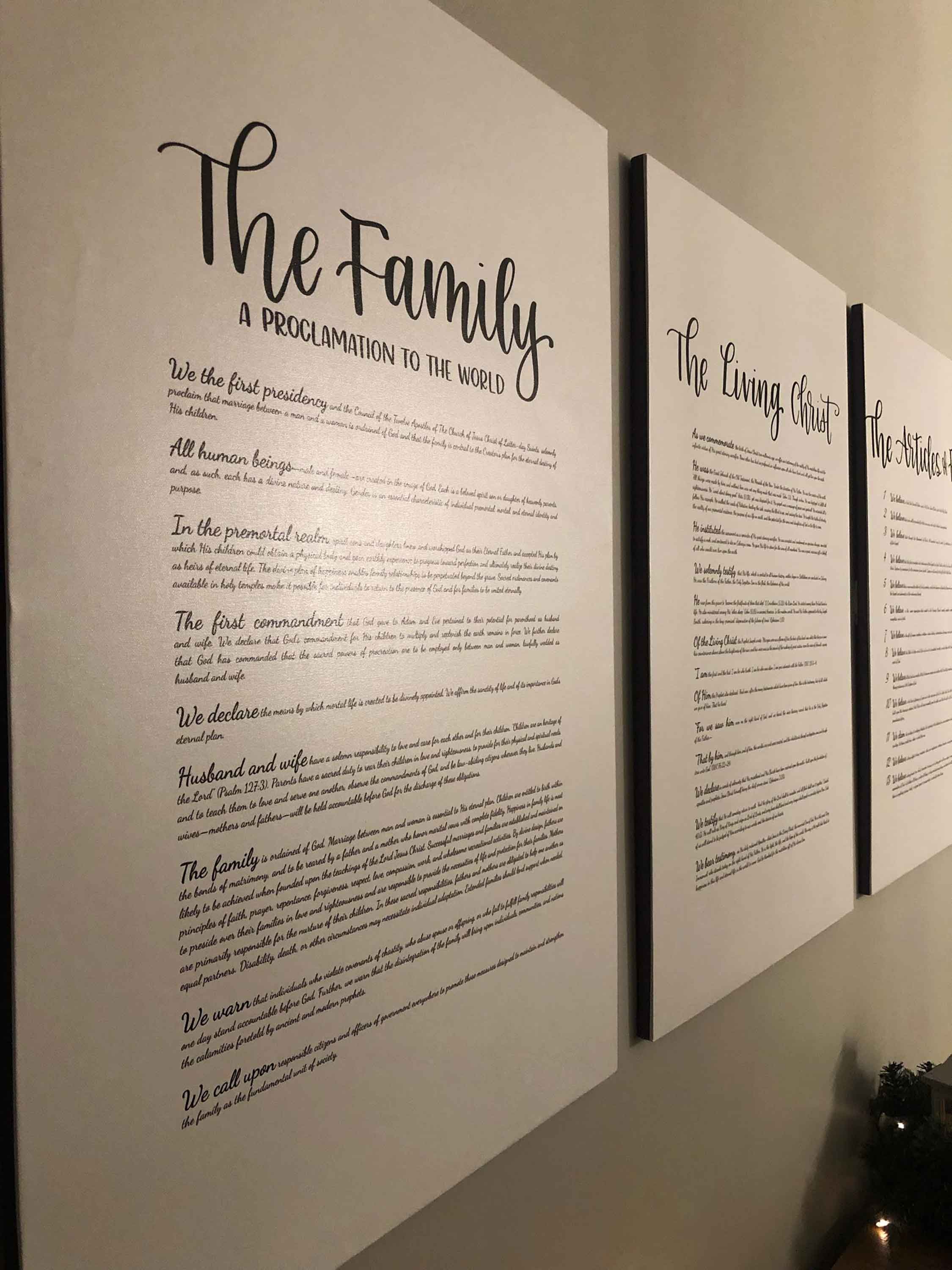 graphic about The Family a Proclamation to the World Free Printable named the household a proclamation toward the worldwide Archives My Foolish