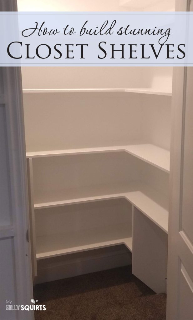 How to build your own stunning bedroom closet shelves | My ...