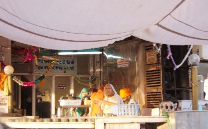 The Golden temple Amritsar water point