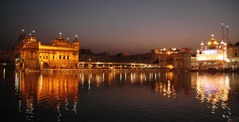 The Golden Temple Amritsar at Night