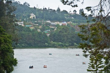 Ooty Lake overview