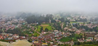 View from Tea factory Ooty