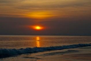 Radha Nagar beach sunset