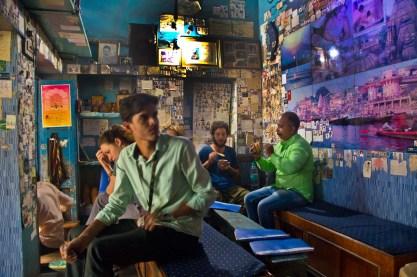 Dev Deepawali in Varanasi lassi