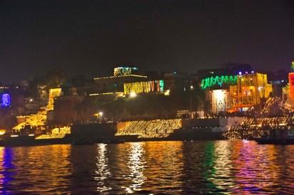 Dev Deepawali in Varanasi ghat