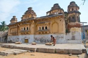 Old fort hampi village