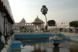 Inside of Jag Mandir Udaipur