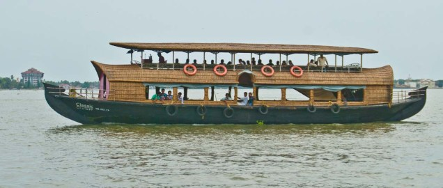 Cochin hotel boat