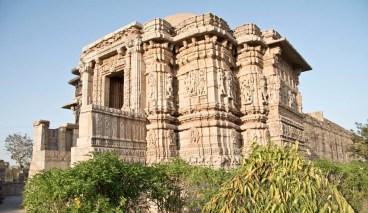 Chittorgarh fort ruins