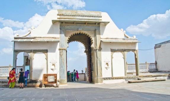 Gate of Monsoon palace Udaipur
