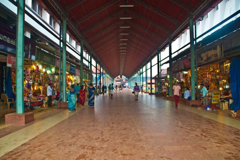 Guruvayur Temple covered area