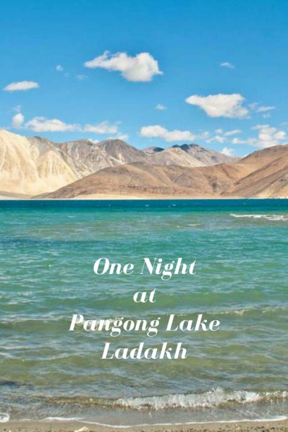 One night at pangong lake 1