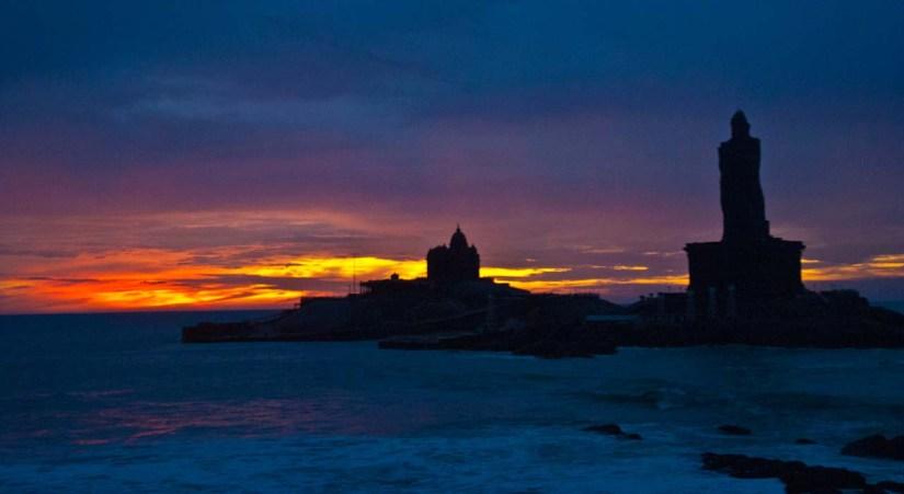 Kanyakumari sunrise