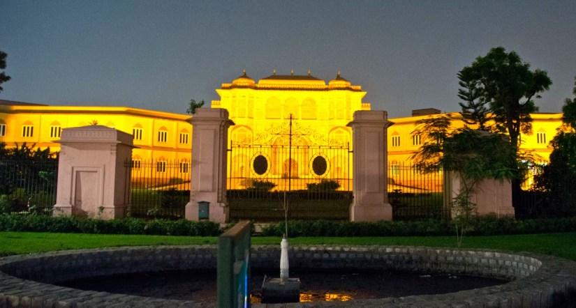 Vidhan Sabha Bhawan Gate Jaipur at Night