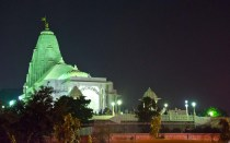 Jaipur by night Birla Temple