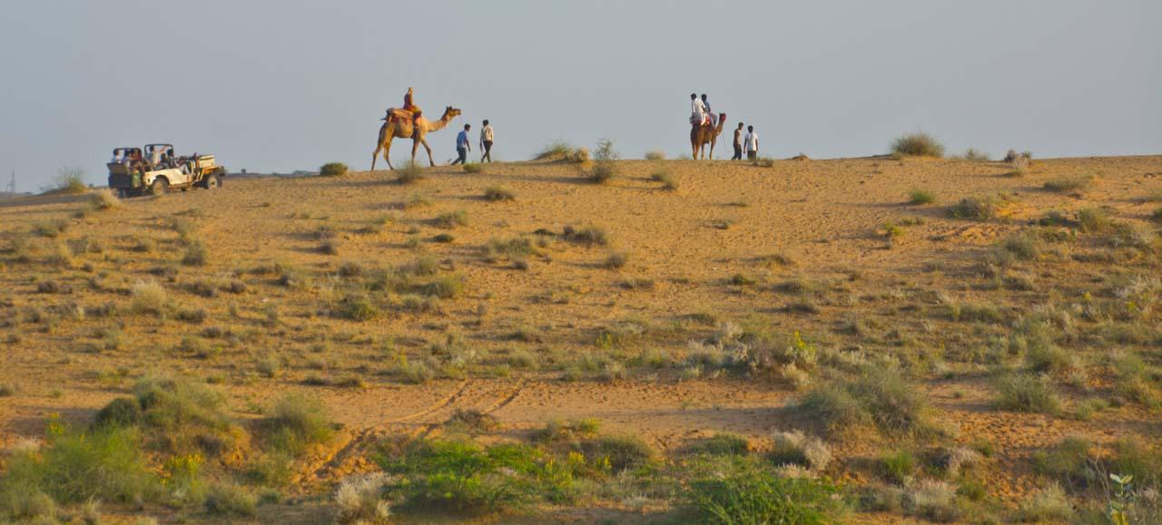 Osian Sand Dunes: You can Skip in Jodhpur