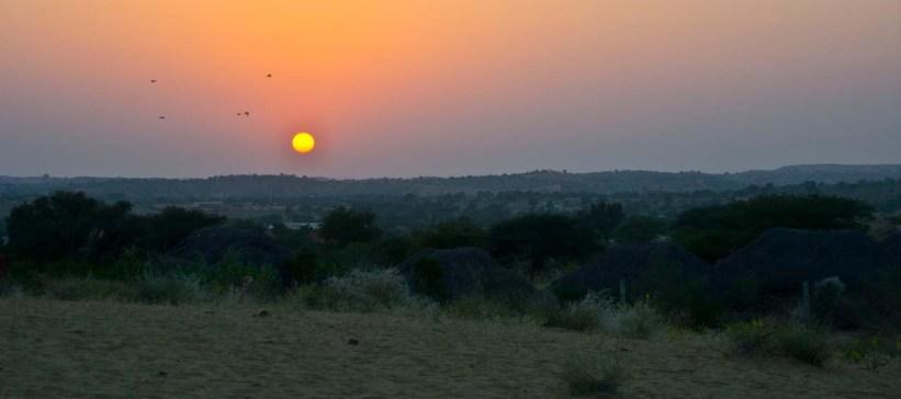 osian sand dunes sunset 9