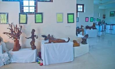 Fossil museum Kumarakom