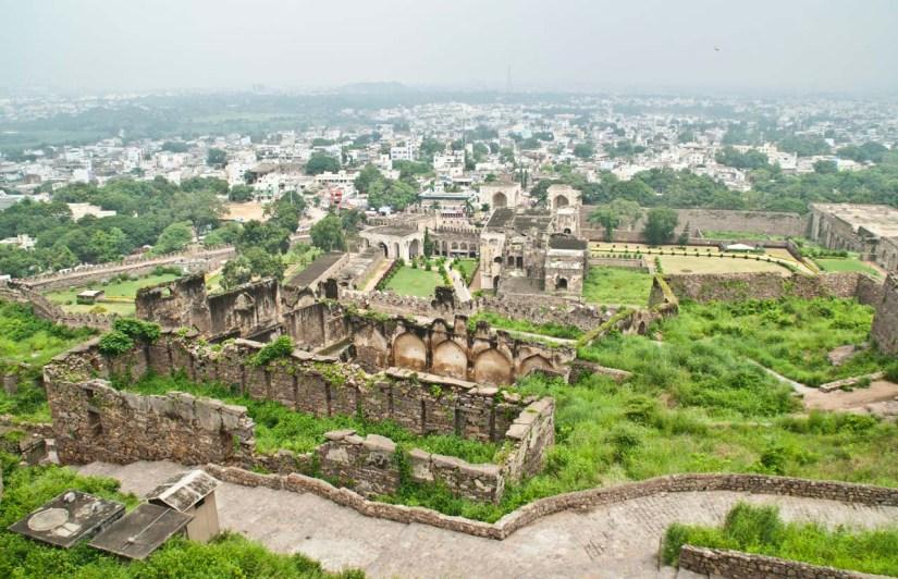 31 golconda fort Hyderabad