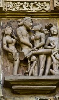 khajuraho temple sculptures