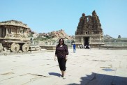 Hampi Monuments and me