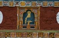Decoration on dzong