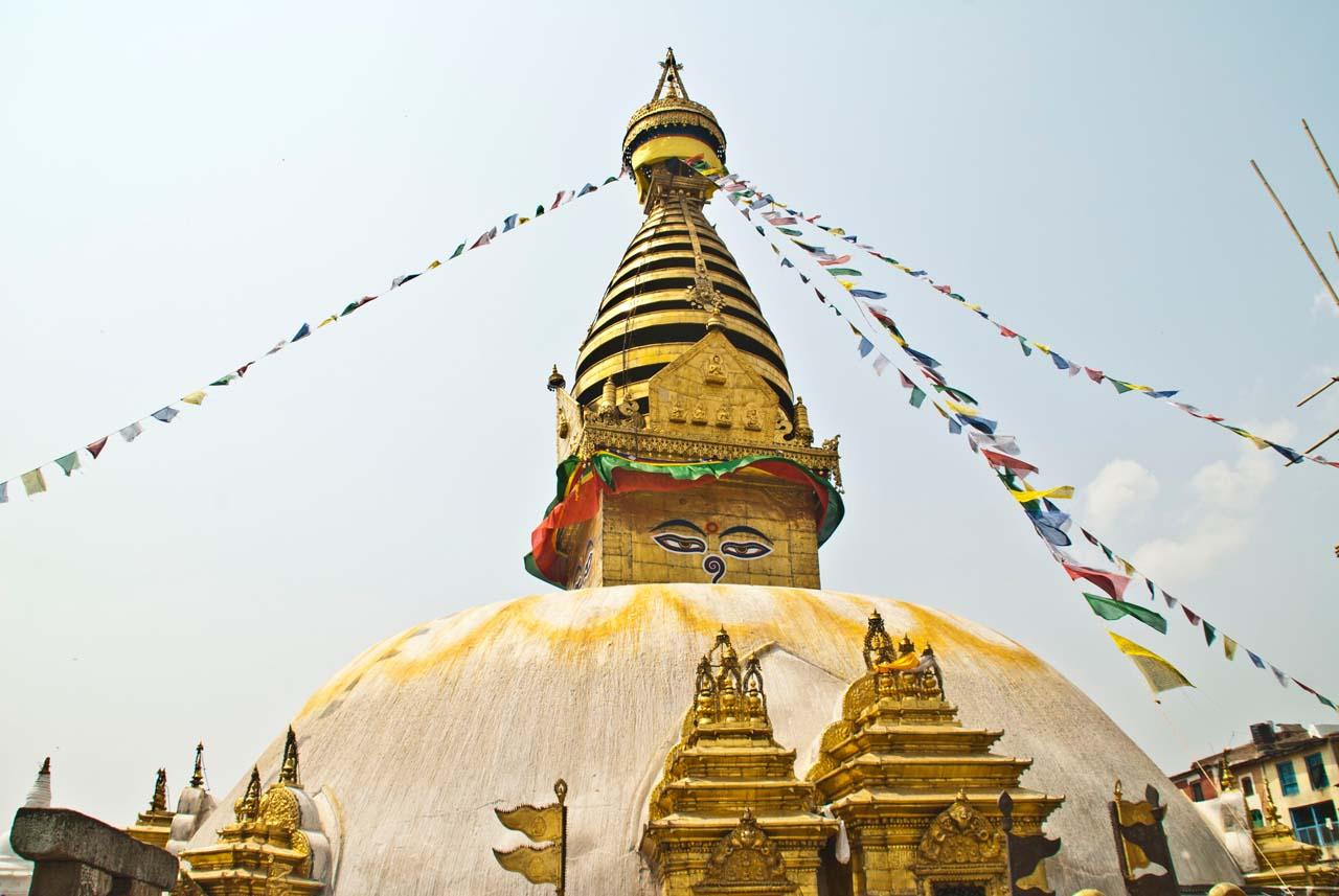Stupa of Boudhanath Kathmandu Nepal